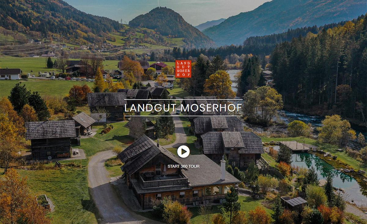3D Rundgang Landgut Moserhof Kärnten