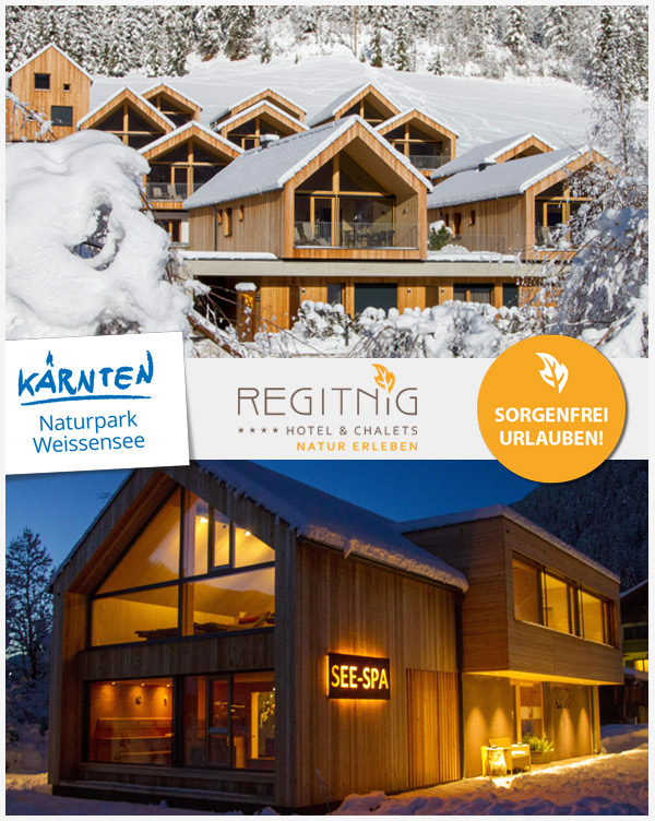REGITNIG Chalets - See-Chalets Skiurlaub Weissensee Kärnten